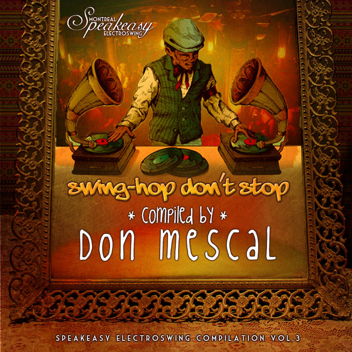Swing-Hop Don't Stop - Speakeasy vol.3 by Don Mescal cover art