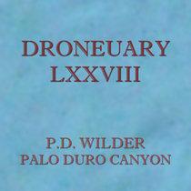 Droneuary LXXVIII - Palo Duro Canyon cover art