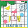 Great Blue - LP Cover Art